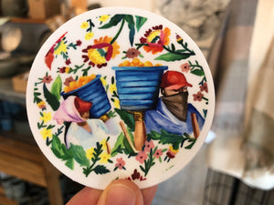 LatinX Migrant Farm Workers Sticker
