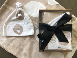 Baby Hat and Blanket Gift Set