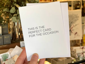 Perfect Occasion Card