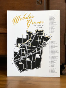 Webster Groves Poster