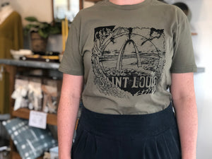 St. Louis T-Shirt  (Sm-2X)