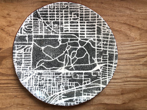 STL Park Map Dish- Large