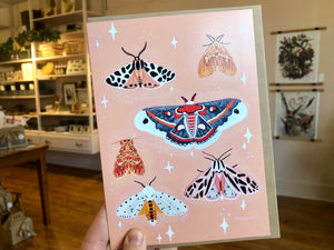 Lover of Moths Card