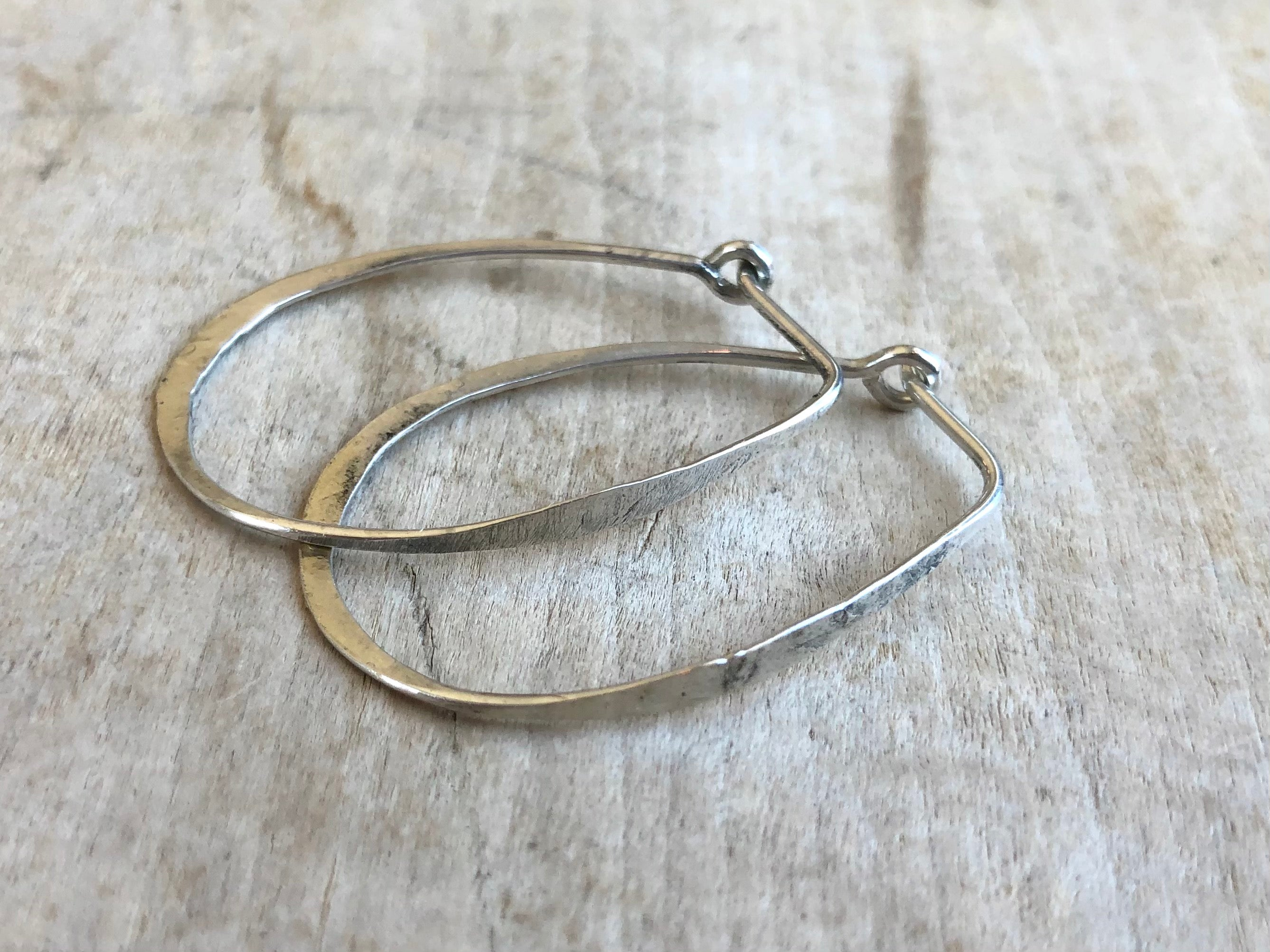 Smallest Sterling Hoops