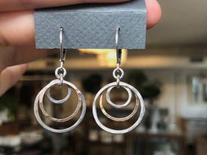 Open Circles Earrings