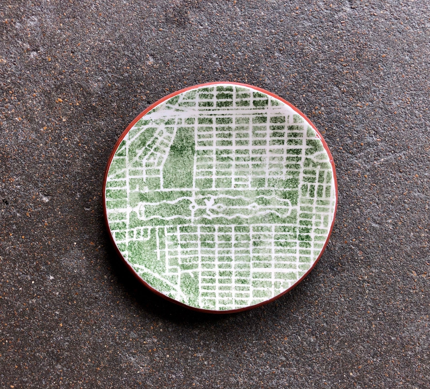 Small Map Dish