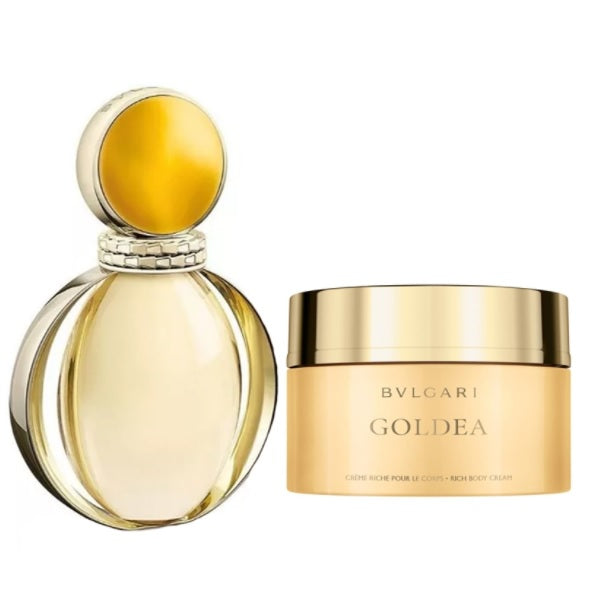 Shop for Bvlgari Goldea EDP 90ml+Body Cream 100ml Gift Setonline - 36uur
