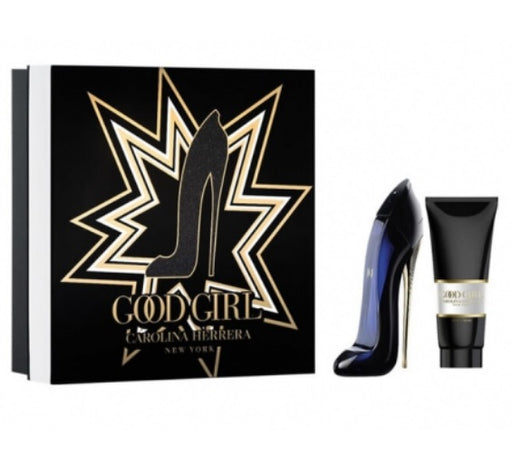 Shop for Carolina Herrera Good Girl Eau De Parfum 50ML+Body Lotion 75ml Gift Setonline - 36uur