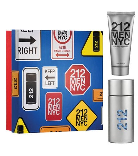 Shop for Carolina Herrera NYC Men EDT 100ml+After Shave Balm 100ml Gift Setonline - 36uur
