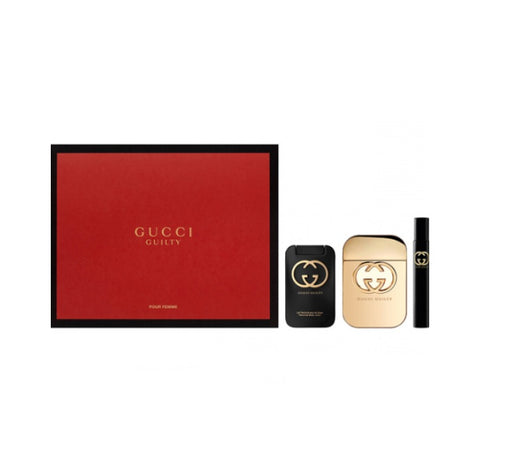 Shop for Gucci Guilty EDT 75ML + Body Lotion 100ml+ EDT 7.5ML Gift Setonline - 36uur