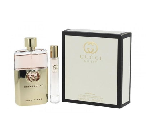 Shop for Gucci Guilty Pour Femme EDP 90ml+7.4ml Roller Ball Travel Setonline - 36uur