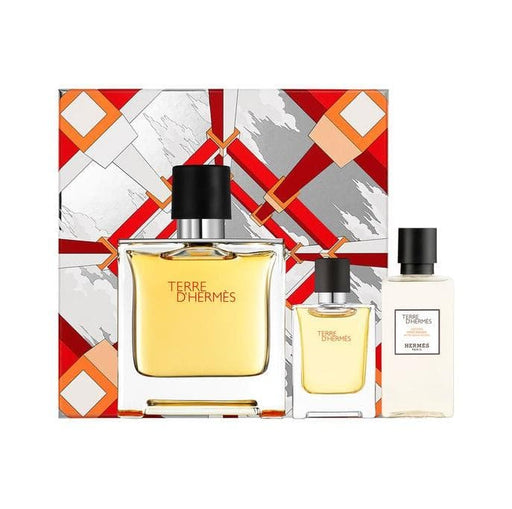 Shop for Hermes Teree D'Hermes EDP 75ml+EDP Mini 12.5ml+After Shave Lotion 40ml Gift Setonline - 36uur