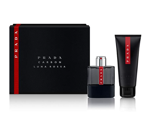Shop for Prada Luna Rossa Carbon EDT 50ml+Shower Gel 100ml Gift Setonline - 36uur