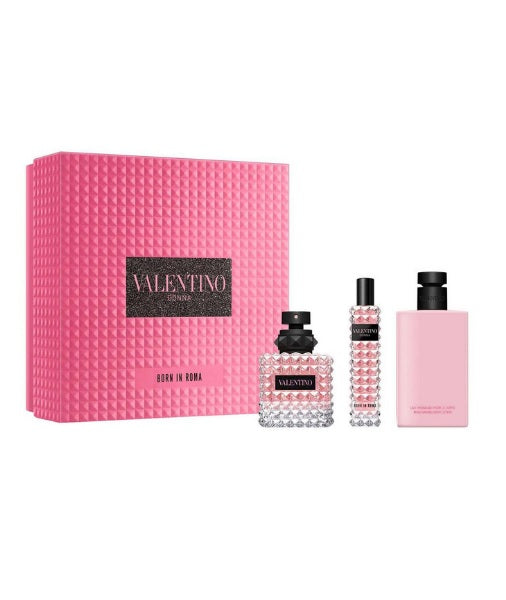 Shop for Valentino Donna Born In Roma EDP 50ML+EDP 15ML+Body Lotion 100ml Gift Setonline - 36uur