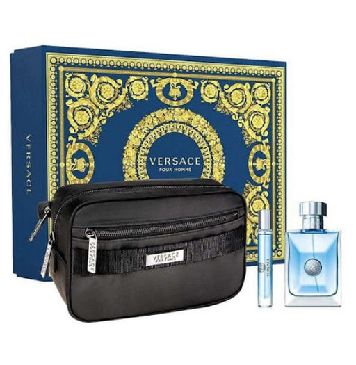 Shop for Versace Pour Homme EDT 100ml+EDT 10ml+Black Trousse Gift Setonline - 36uur