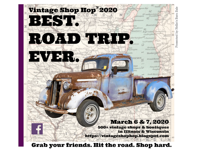 VINTAGE SHOP HOPPERS... YOU HAVE TO STOP HERE!