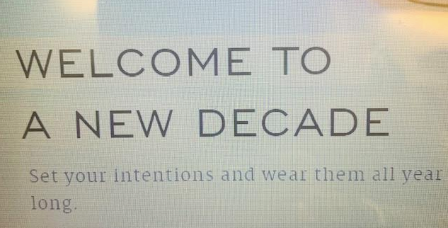 Welcome to a New Decade in Fashion!