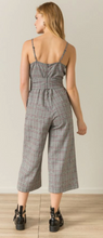 Load image into Gallery viewer, Checked Corset Jumpsuit - Juli & Boutique