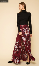 Load image into Gallery viewer, Floral Printed Button Front Maxi Skirt - Juli & Boutique