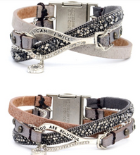 Load image into Gallery viewer, Fabulous Trio Leather Good Works Bracelets - Juli & Boutique