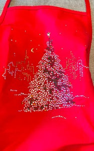 Fun Aprons with Hand Applied Crystals make the perfect Gifts! - Juli & Boutique