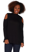 Load image into Gallery viewer, Rinna Cold Shoulder Knit Top with Sassy Back Detail - Juli & Boutique