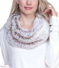 Load image into Gallery viewer, Fluffy soft Faux Fur Infinity Scarf - Juli & Boutique