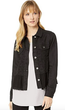 Load image into Gallery viewer, Georgette Ruffle Denim Jacket - Juli & Boutique