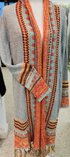 Load image into Gallery viewer, Santa Fe Cardigan Sweater Duster with Fringe - Juli & Boutique