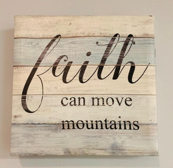 Faith can Move Mountains - Juli & Boutique