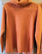 Load image into Gallery viewer, Best Seller!! Brushed funnel neck Pullover With Flyaway Botton Back - Juli & Boutique