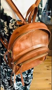 Tommy Bahama Genuine Leather Backpack Purse - Juli & Boutique
