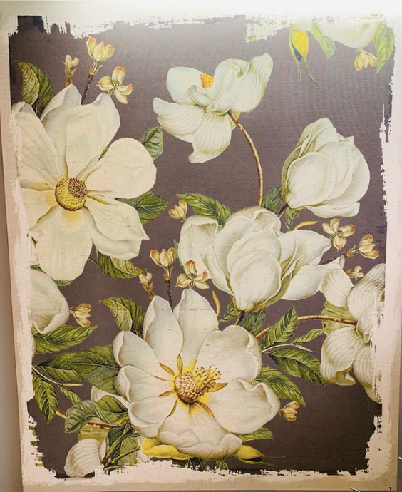 Magnolia Canvas Print Wall Hanging - Juli & Boutique