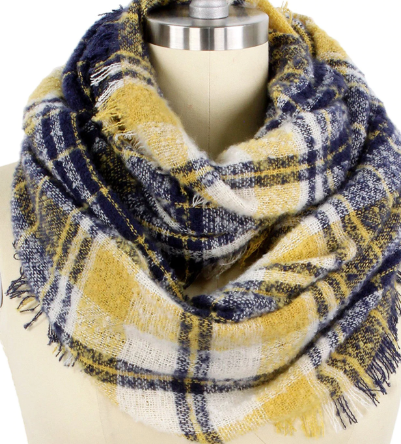 Plaid Infinity Scarf - Juli & Boutique