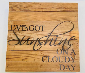 """I've Got Sunshine"" - wall hanging - Juli & Boutique"