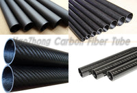 Carbon Fiber Tube 3K /Tubing 100% Roll Wrapped