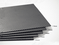 3K Carbon Fiber Plate 200x250mm 200x300mm100%Pure Carbon Board  Carbon Fiber Material For RC UAV/Toys
