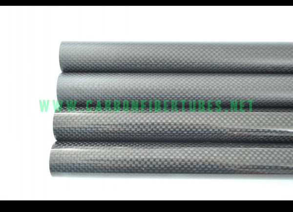 OD 6mm X ID 4mm 5mm X 500MM 100% Roll Wrapped Carbon Fiber Tube 3K /Tubing 6*4 6*5 3K Plain Gloss/Matt