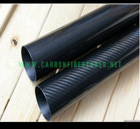 OD 14mm X ID 10mm 12mm 13mm X 500MM 100% Roll Wrapped Carbon Fiber Tube 3K /Tubing 14*10 14*12 14*13