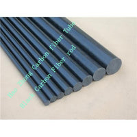 Carbon Fiber Solid Rod Diameter 1-20mm x Length 500mm