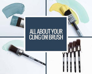 Caring For Your Cling On! Brushes