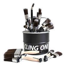 Baillea's Interiors - UK Stockist of Cling On Paint Brushes.  Ideal for water based paints.