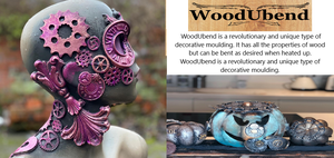 Baillea's Interiors, UK Stockist Retailer of WoodUbend Mouldings & Embellishments, All the properties of wood but when heated can be moulded round corners and edges.
