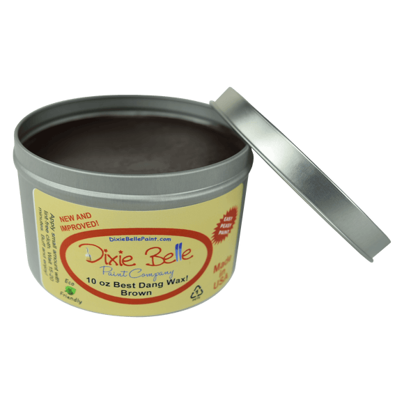 BEST DANG WAX - 4oz/10oz - BROWN - Dixie Belle
