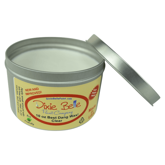 BEST DANG WAX - 10oz - CLEAR - Dixie Belle