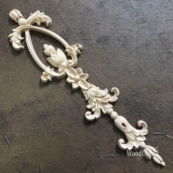 WoodUbend Decorative Drops Decor Moulding Applique