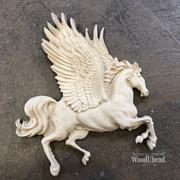 WoodUbend Horse Decor Moulding Applique