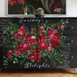 Earthly Delights ReDesign with Prima Decor Transfer Decal