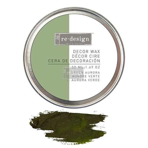 Aurora - Olive Green Prime Decor Gilding Wax