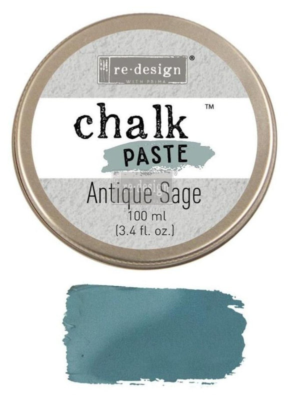 Chalk Paste ReDesign With Prima Antique Sage